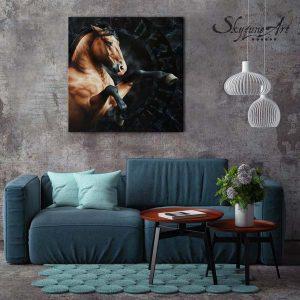 peintre animalier contemporain, art équestre portrait cheval tableau meilleur artiste animalier, commande de portrait animalier d'après photos, peinture et pastel