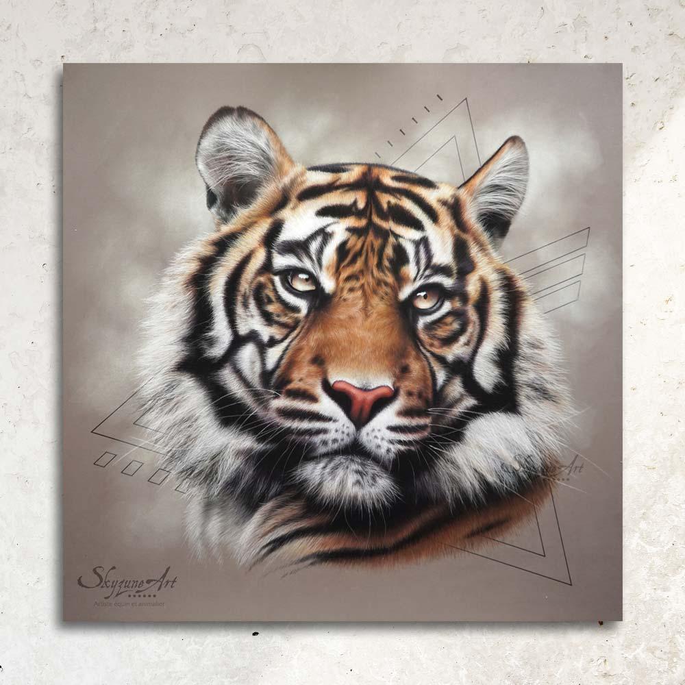peintre animalier contemporain, fauve sauvage, Peinture animal sauvage, meilleur artiste animalier, commande de portrait animalier d'après photos, peinture et pastel