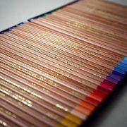 test de crayon pastel de la marque Koh I noor par l'artiste peintre animalier, Skyzune ART